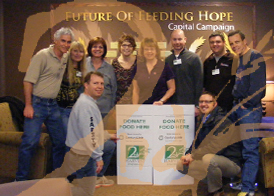 Lydig helps fight hunger at 2nd Harvest. In one 2 hour shift, Lydig employees sorted 10,000 pounds of bread which fed over 3,400 people.