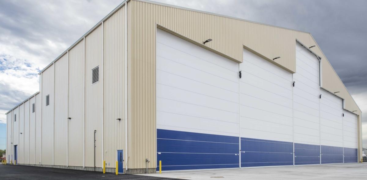 Lydig Construction Projects Industrial Aerotec Hangar